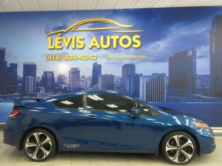 Used 2015 Honda Civic SI MANUEL 53800 KM TOIT OUVRANT GPS TRES for sale in Lévis, QC