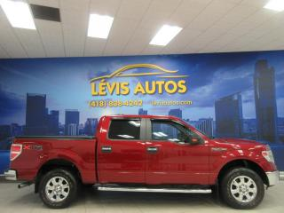 Used 2014 Ford F-150 XLT XTR 4X4 SUPERCREW 116900 KM V-8 5.0 for sale in Lévis, QC