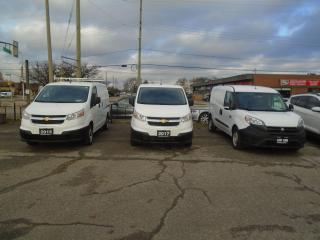 Used 2017 Chevrolet City Express AUTO SAFETY GAS SAVER CARGO VAN NEW F BRAKES for sale in Oakville, ON