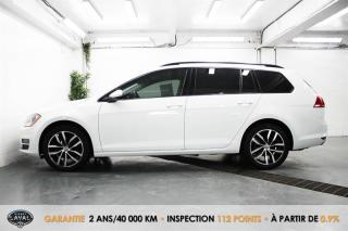 Used 2017 Volkswagen Golf Sportwagen Auto Comfortline 1.8 TSI + Bluetooth + Caméra for sale in Québec, QC