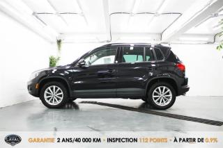 Used 2017 Volkswagen Tiguan 4MOTION Wolfsburg Edition + Toit + Caméra for sale in Québec, QC