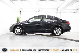 Used 2015 Volkswagen Jetta Auto Highline 1.8 TSI + Fender + GPS + Keyless for sale in Québec, QC