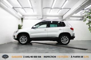 Used 2017 Volkswagen Tiguan 4MOTION Wolfsburg Edition + Caméra + Bluetooth for sale in Québec, QC