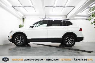 Used 2018 Volkswagen Tiguan 4MOTION Comfortline + 5Pass + Keyless + GPS for sale in Québec, QC