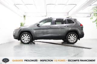 Used 2015 Jeep Cherokee 4WD V6 Limited + Bas Kilo + Caméra + Bluetooth for sale in Québec, QC