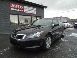Used 2010 Honda Accord EX-L**CUIR**TOIT OUVRANT** for sale in St-Hubert, QC