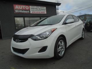 Used 2013 Hyundai Elantra GL for sale in St-Hubert, QC