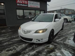 Used 2006 Mazda MAZDA3 GT ** PLUSIEURS PIÈCES À CHANGER ** for sale in St-Hubert, QC