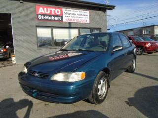 Used 1998 Toyota Corolla VE for sale in St-Hubert, QC