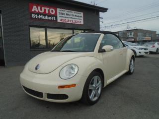 Used 2006 Volkswagen New Beetle CONVERTIBLE for sale in St-Hubert, QC