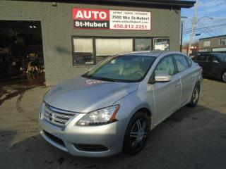 Used 2013 Nissan Sentra SV for sale in St-Hubert, QC