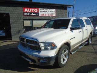 Used 2010 Dodge Ram 1500 Laramie 4X4 Hemi for sale in St-Hubert, QC