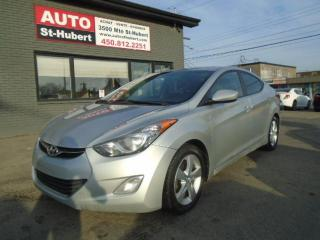 Used 2013 Hyundai Elantra GLS**EDITION LIMITÉE**A QUI LA CHANCE** for sale in St-Hubert, QC