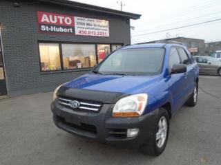 Used 2007 Kia Sportage LX**NOUVEL ARRIVAGE**QUEL AUBAINE** for sale in St-Hubert, QC