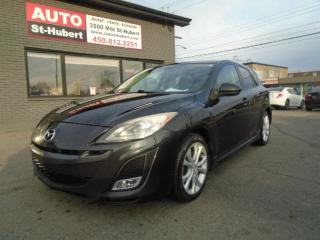 Used 2011 Mazda MAZDA3 GT CUIR/TOIT/MAGS for sale in St-Hubert, QC