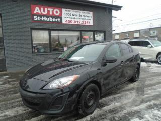 Used 2011 Mazda MAZDA3 GS ** 123 000 KM CERTIFIÉ ** for sale in St-Hubert, QC