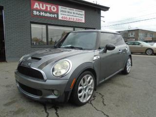 Used 2008 MINI Cooper Hardtop S for sale in St-Hubert, QC