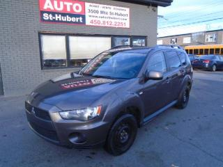 Used 2010 Mitsubishi Outlander LS AWD for sale in St-Hubert, QC