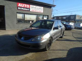 Used 2005 Mitsubishi Lancer OZ for sale in St-Hubert, QC
