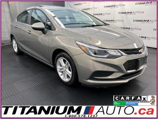 Used 2017 Chevrolet Cruze LT+HatchBack+Camera+Sunroof+Blind Spot+Lane Assist for sale in London, ON