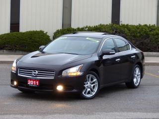 Used 2011 Nissan Maxima LEATHER,BOSE AUDIO,FULLY LOADED,CERTIFIED,LOW KMS for sale in Mississauga, ON