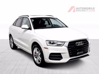 Used 2017 Audi Q3 Komfort Quattro Cuir Toit Pano GPS Bluetooth for sale in Île-Perrot, QC