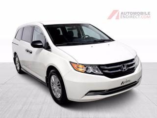Used 2017 Honda Odyssey LX Stow N' Go A/C 7 places Caméra Bluetooth for sale in Île-Perrot, QC