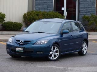Used 2008 Mazda MAZDA3 GRAND TOURING,GT,HEATD SEATS,SUNROOF,CERTIFIED for sale in Mississauga, ON