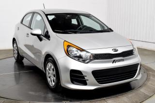 Used 2016 Kia Rio LX HATCH for sale in Île-Perrot, QC