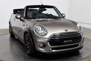 Used 2016 MINI Cooper Convertible CONVERTIBLE A/C MAGS for sale in Île-Perrot, QC