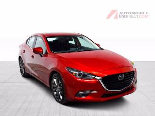 Used 2018 Mazda MAZDA3 GT A/C Mags Cuir Toit GPS Sièges Chauffants Caméra for sale in Île-Perrot, QC