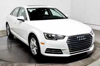 Used 2017 Audi A4 Komfort Quattro Cuir Toit Sièges Chauffants for sale in Île-Perrot, QC