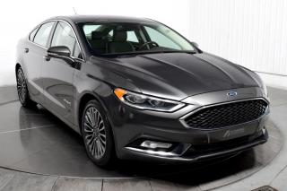 Used 2017 Ford Fusion HYBRID PLATINUM CUIR TOIT NAV for sale in Île-Perrot, QC