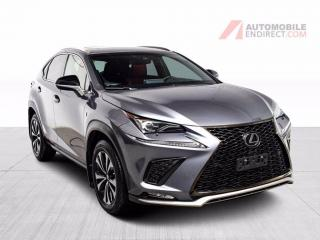 Used 2018 Lexus NX F-SPORT AWD CUIR TOIT GPS MAGS for sale in Île-Perrot, QC