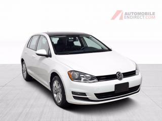 Used 2017 Volkswagen Golf Comfortline TSI Auto A/C Mags Toit Caméra for sale in Île-Perrot, QC