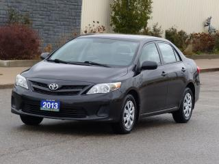 Used 2013 Toyota Corolla HEATED SEATS,AC,POWER OPTIONS,CERTIFIED,EXTRACLEAN for sale in Mississauga, ON