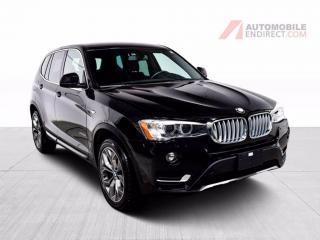 Used 2017 BMW X3 28i xDrive Cuir Sièges Chauffants Caméra for sale in Île-Perrot, QC