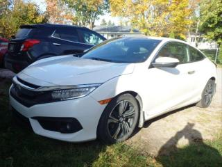 Used 2017 Honda Civic TOURING COUPE CUIR TOIT MAGS NAV for sale in Île-Perrot, QC