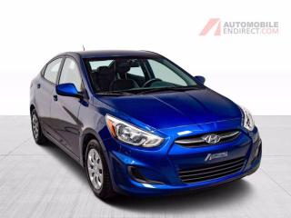 Used 2016 Hyundai Accent GL Auto A/C Sièges Chauffants Bluetooth for sale in Île-Perrot, QC