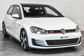 Used 2015 Volkswagen Golf GTI GTI AUTOBAHN TOIT SIEGES CHAUFFANTS A/C for sale in Île-Perrot, QC