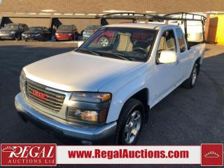 Used 2009 GMC Canyon SLE 2D EXT CAB 2WD 2.9L for sale in Calgary, AB