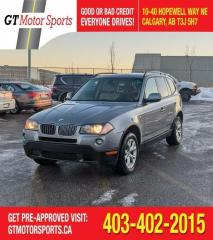 Used 2010 BMW X3 28i | $0 DOWN - EVERYONE APPROVED! for sale in Calgary, AB