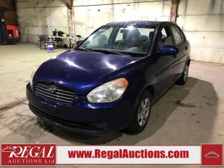 Used 2008 Hyundai Accent 4D Sedan for sale in Calgary, AB
