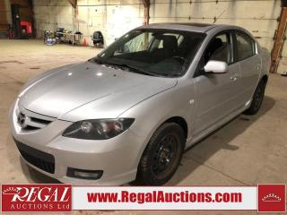 Used 2007 Mazda MAZDA3 GT 4D Sedan for sale in Calgary, AB