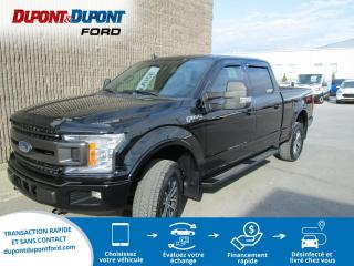 Used 2018 Ford F-150 XLT FX4cabine SuperCrew 4RM caisse de 5, for sale in Gatineau, QC