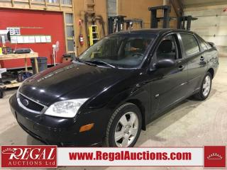 Used 2007 Ford FOCUS SES ZX4 4D SEDAN for sale in Calgary, AB