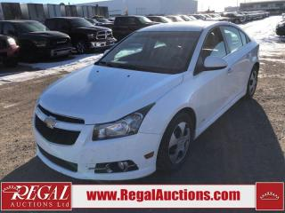 Used 2012 Chevrolet Cruze LTZ 4D Sedan Turbo FWD for sale in Calgary, AB