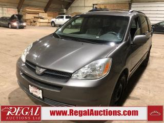 Used 2004 Toyota Sienna XLE 4D WAGON for sale in Calgary, AB