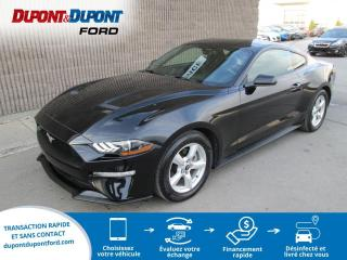 Used 2018 Ford Mustang EcoBoost à toit fuyant for sale in Gatineau, QC