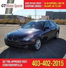 Used 2009 BMW 5 Series 535i xDrive I $0 DOWN - EVERYONE APPROVED! for sale in Calgary, AB